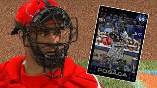 DIAMOND JORGE POSADA DEBUT!! MLB THE SHOW 18 DIAMOND DYNASTY