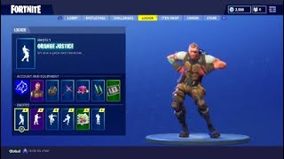 Fortnite New BATTLEHAWK Skin Showcased With A New Dance (Orange Justice)