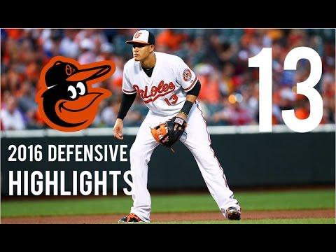 Manny Machado | 2016 Defensive Highlights