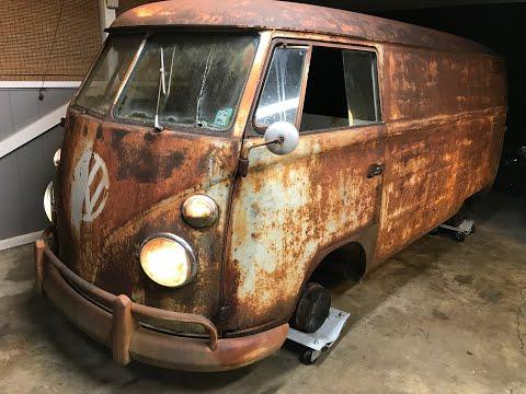 FIRST OIL CHANGE IN OVER 40 YEARS - RESURRECTION RESTORATION!!! 1962 VW Type 2 Van/Bus, VW Kombi