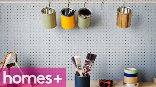 Paint Can Diy Idea #3: Mini Storage Can Solution - Homes+