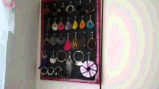 D.i.y. Earring Holder
