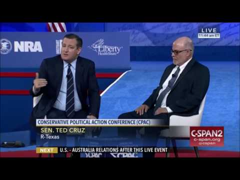 Senator Ted Cruz & Mark Levin discuss the Constitution at CPAC 2017