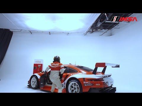 Porsche/Coca-Cola Livery Reveal for IMSA Motul Petit Le Mans at Michelin Raceway Road Atlanta