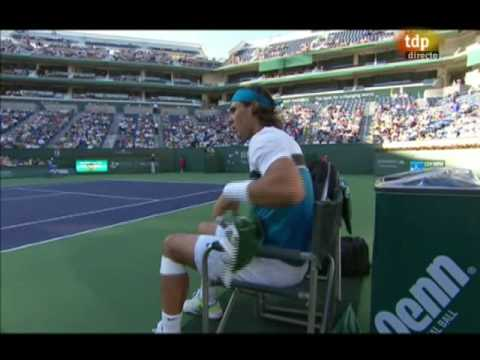 Rafa Nadal vs. Dmitry Tursunov, 6-3 y 6-3