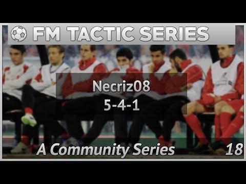 FM17   FM Tactics   Necriz08 5-4-1 Tactic   Football Manager 2017