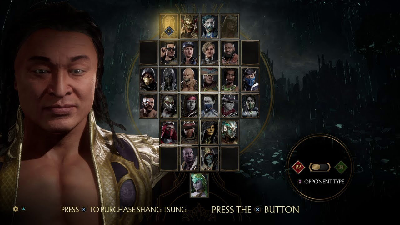 Mortal Kombat 11 All Characters Showcase Select Screen Full