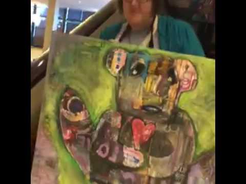 Art Brut graduation ceremony with kecia deveney AIY Stamford 2016