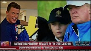 BREAKING: AGAIN! BARRON TRUMP BRUTALLY ATTACKED BY FOX SPORTS ANCHOR IN CRUEL TWEET THAT BROKE HIM