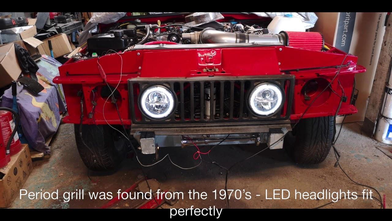 Classic Range Rover 2 Door - Corvette LS3 Powered - Part 2