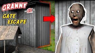Granny's SECRET GATE ESCAPE!!! | Granny The Mobile Horror Game Multiplayer