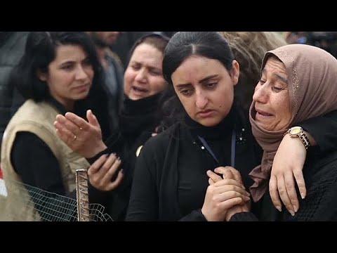 العراق والأمم المتحدة يبدآن أول عملية نقل رفات من مقبرة جماعية في سنجار…  - 18:53-2019 / 3 / 16
