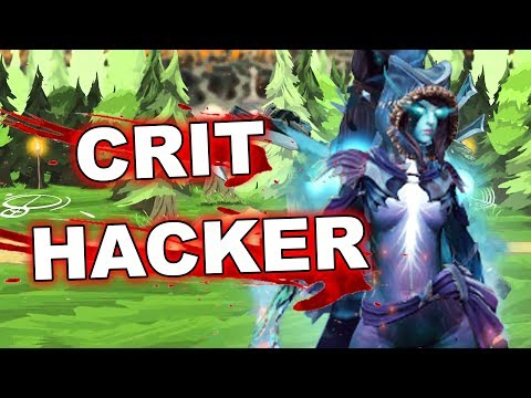 Dota 2 Cheaters: PA With CRIT SCRIPT!