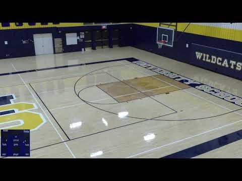 University School vs. The Prairie School Varsity Mens' Basketball