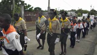 St  Kitts/Nevis Pathfinders Congressore 2011 March of Witness