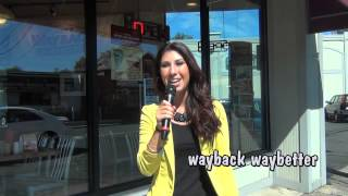 MyTV9 Star, Tulin, at Jake's Wayback Burgers in Stamford, CT