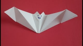 How To Make A Paper Origami Bat