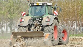 Fendt 936 + FAE UMH/S - 225/A Forestry Mulcher