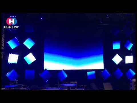 Outdoor Moving  LED Display X Rover Pro Multi-function with lighting,movement,and video for Stage