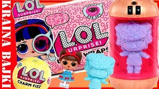 LOL SURPRISE UNDER WRAPS Dekoder Eye Spy vs CHARM FIZZ Kule Musujące od MGA