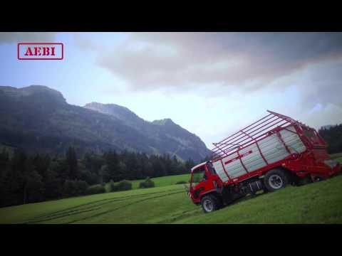 Aebi Transporter - Inégalé en termes de confort et de performance