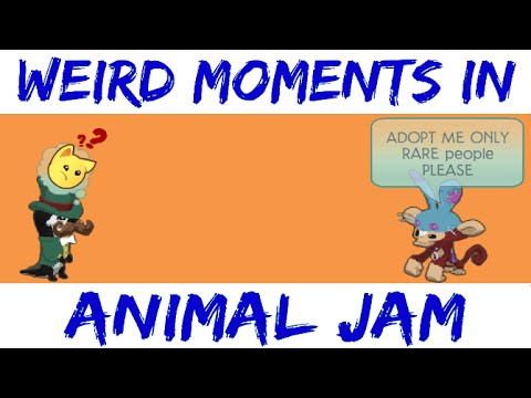 WEIRD MOMENTS IN ANIMAL JAM
