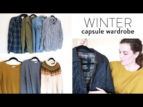 Winter Capsule Wardrobe 2017 | Featuring Madewell, J. Crew, Everlane and L.L. Bean