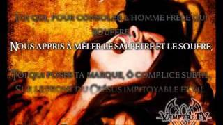Theatres des Vampires - Les Litanies De Satan ( Lyrics )