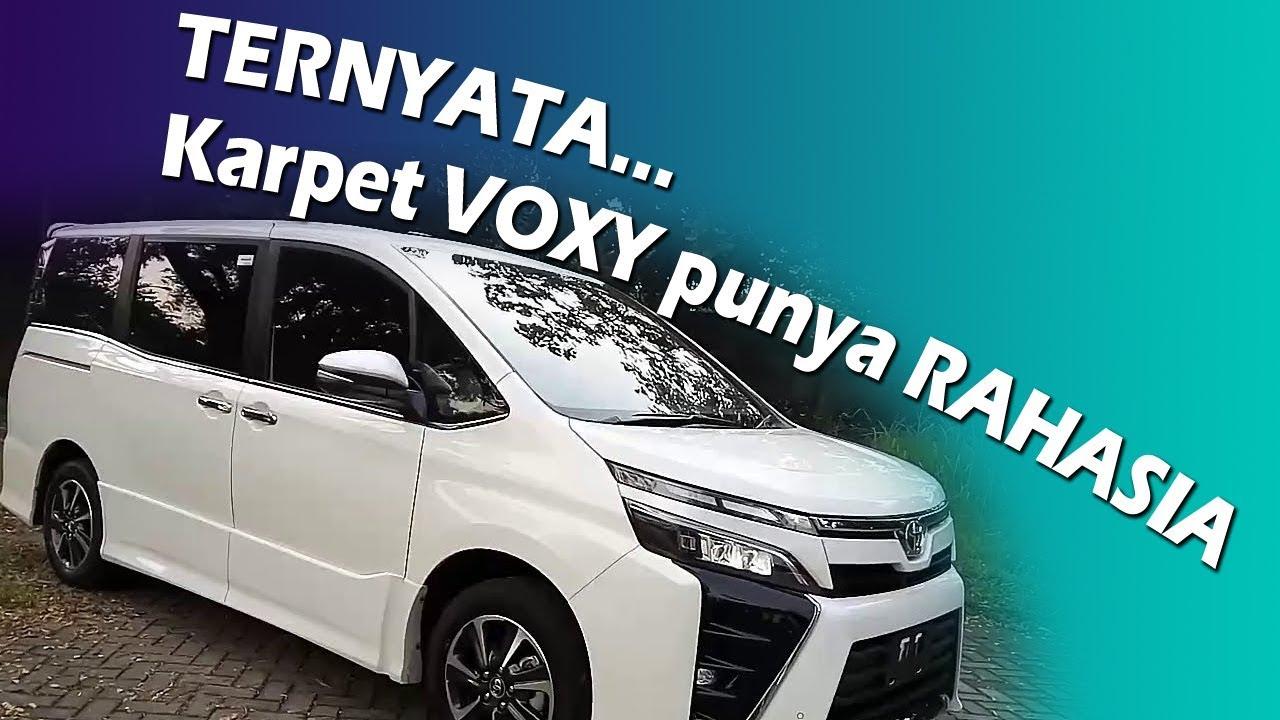 COMFORT Mewahnya Karpet Mobil Toyota Voxy 0822 83263 212 YouTube