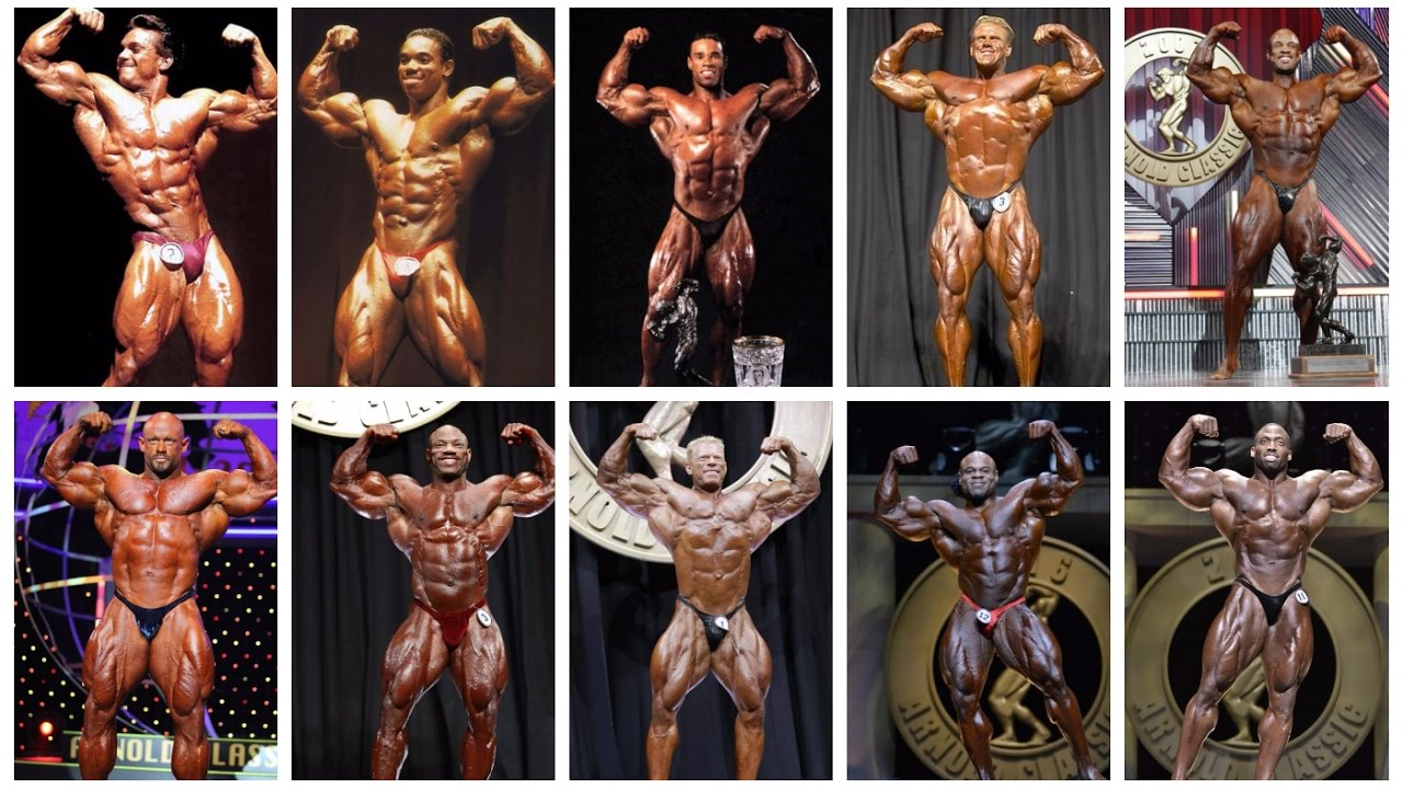 33662f0f4f4800 ALL-TIME ARNOLD CLASSIC WINNERS  1989-2017  - YouTube