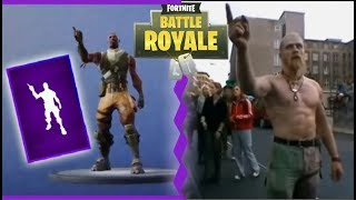 NUEVO BAILE ÉPICO DE FORTNITE EN LA VIDA REAL*INTENSIDAD*( su ORIGEN)| Fortnite:battle royale|.