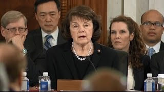 Raw Video: Feinstein Opening Statement At Sessions Confirmation Hearing