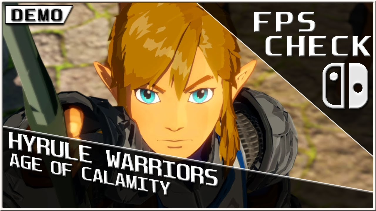 Hyrule Warriors Age Of Calamity Fps Check Nintendo Switch Gameplay Youtube
