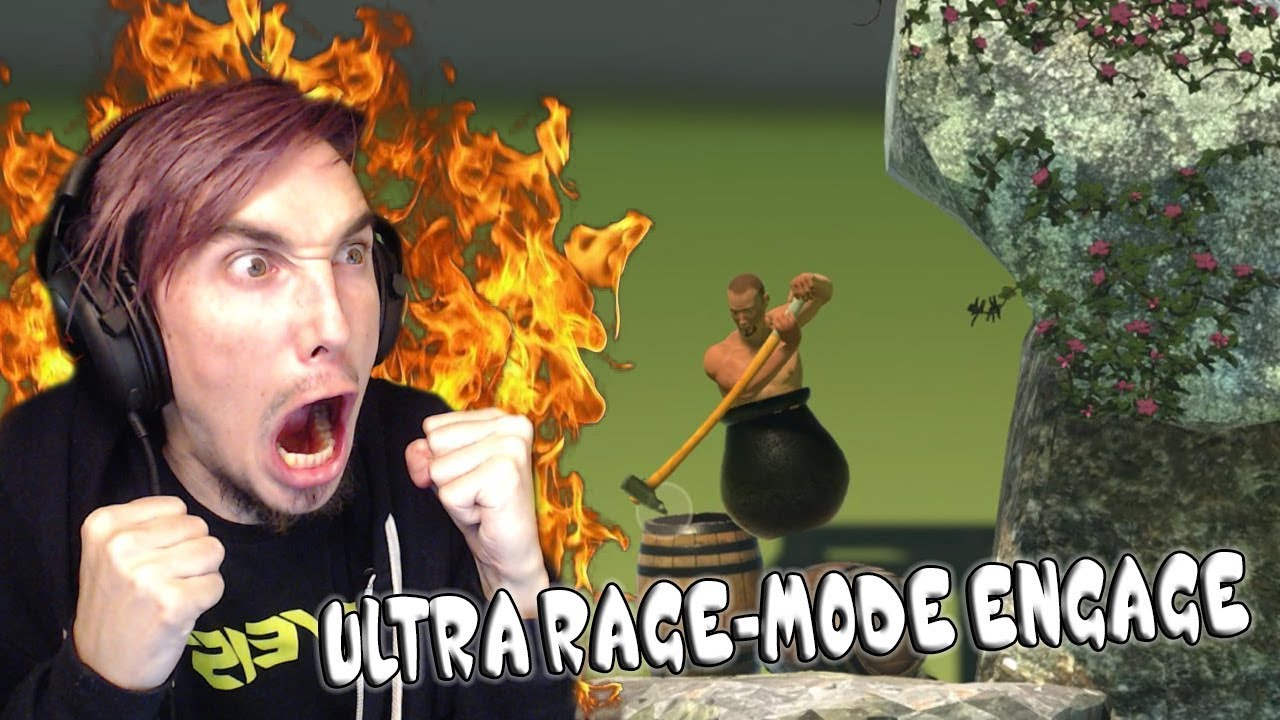 getting over it game rage