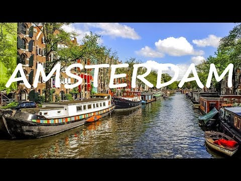 Exploring Fascinating AMSTERDAM! & Tour of the Red Light District