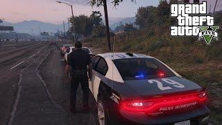 GTA 5 LSPDFR Police Mod Dodge Charger 2015 Slicktop