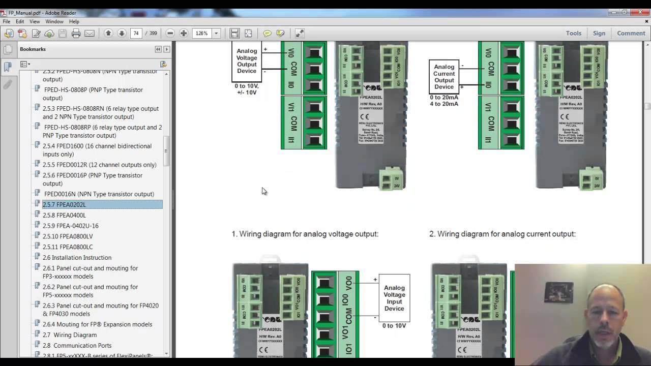 Flexisoft Analog Module Configuration Youtube Wiring Diagram