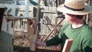 Pete's Self-steering Wind Vane Project