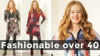 How to look fashionable over 40 - over 40 style
