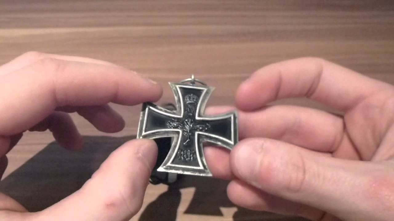 Ww1 German Iron Cross Second Class Medal 1914 Youtube