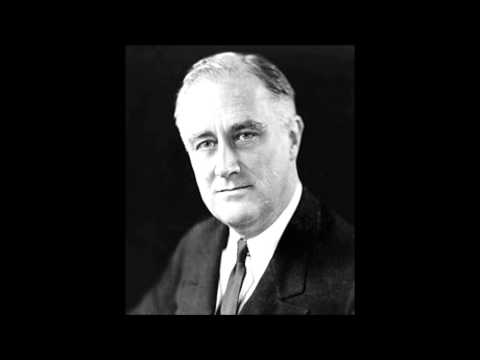 Franklin Delano Roosevelt     First Fireside Chat The Banking Crisis