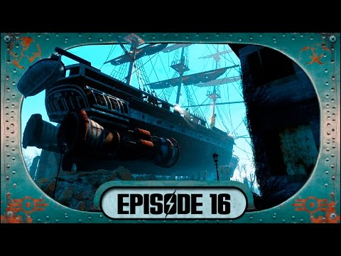 """FALLOUT 4 Gameplay (""""Last Voyage of the USS Constitution"""" Pt.1) Trivia Walkthrough"""