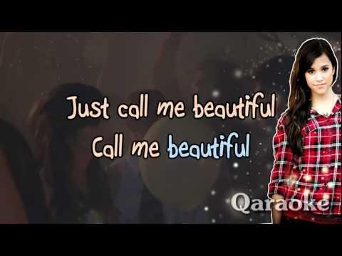 B-e-a-utiful - Megan Nicole [Karaoke/Instrumental]