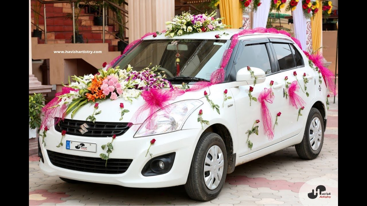 Marriage Car Decoration Pictures  Flisol Home