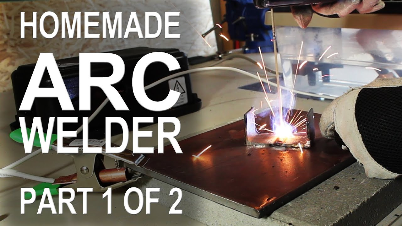 Making An Arc Welder Part 1 Of 2 Youtube On Welding Gun Or Cables And Welders Transformer