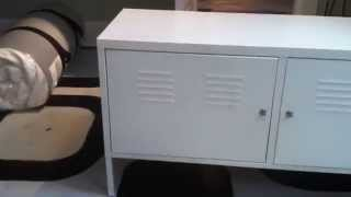 Ikea PS Metal Cabinet Article Number:  502.923.17 Build Tutorial