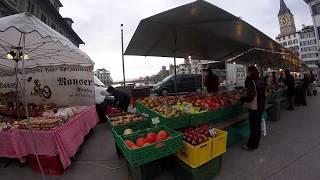 Zurich Switzerland Street Market