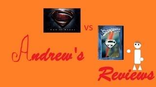 Andrew's Reviews Man of Steel vs Superman 1978