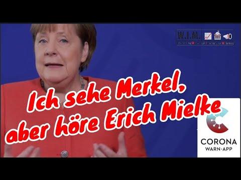 Corona Stasi-App: Ich sehe Merkel, aber höre Erich Mielke