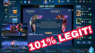 NEW SKIN SWAP EVENT! 101% WORKING!| Mobile Legends